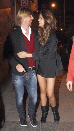 Guti y Romina Belluscio