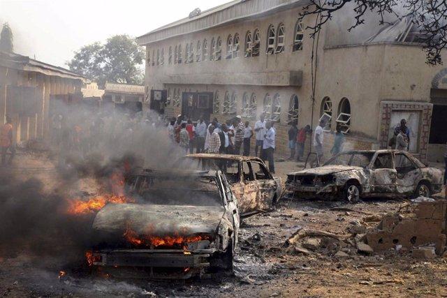 Cadena De Atentados En Nigeria Perpetrados Por Boko Haram