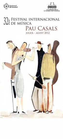 Cartel Del 32º Festival Internacional De Música Pau Casals