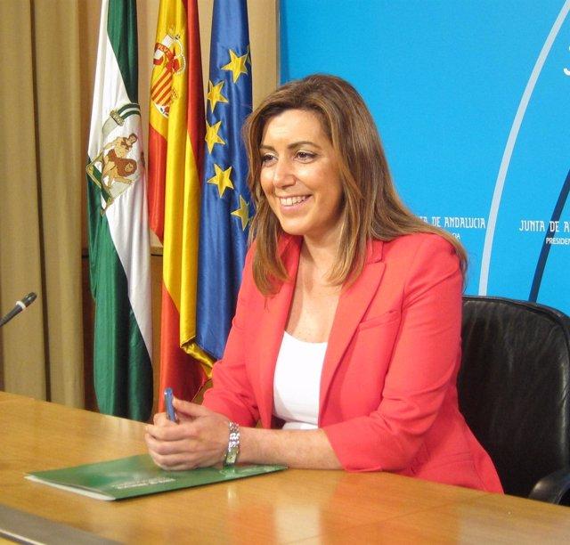 Susana Díaz, Este Martes En Rueda De Prensa