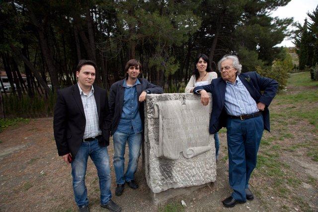 Daniel Rodríguez Moya, Fernando Valverde, Raquel Lanseros Y Adonis En Alfacar