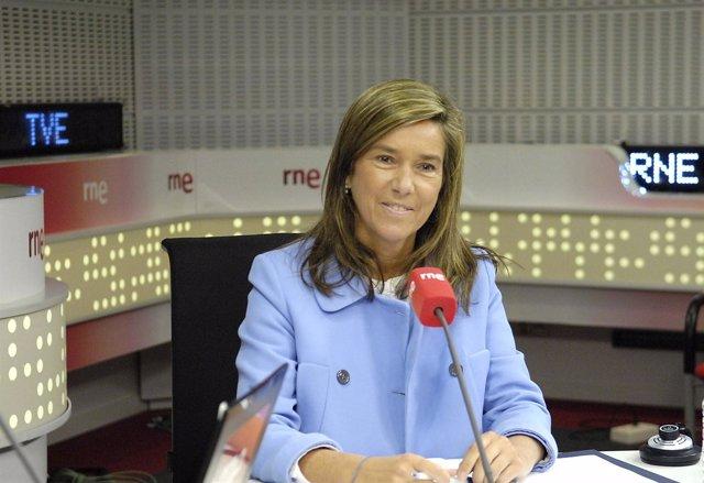Juan Ramon Lucas Entrevista A Ana Mato, Ministra De Sanidad, Servicios Sociales