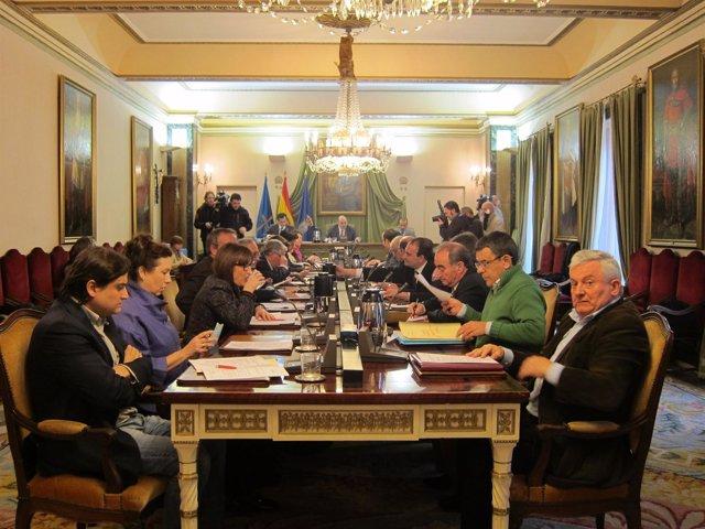 El Pleno Del Ayuntamiento De Oviedo