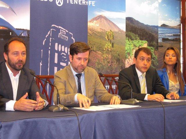 Presentación De La Acción Promocional De Turismo De Tenerife