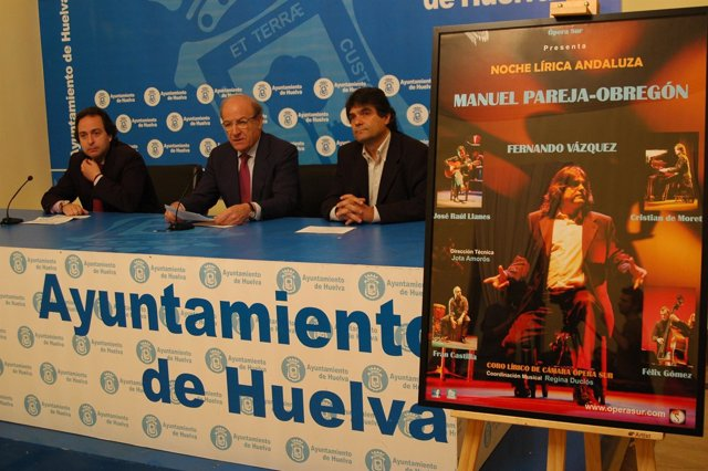 Pedro Rodríguez, Presenta 'Noche Lírica Andaluza'.