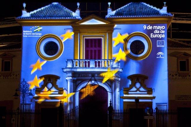 Videomapping En La Plaza De Toros De La Real Maestranza De Cabellería De Sevilla