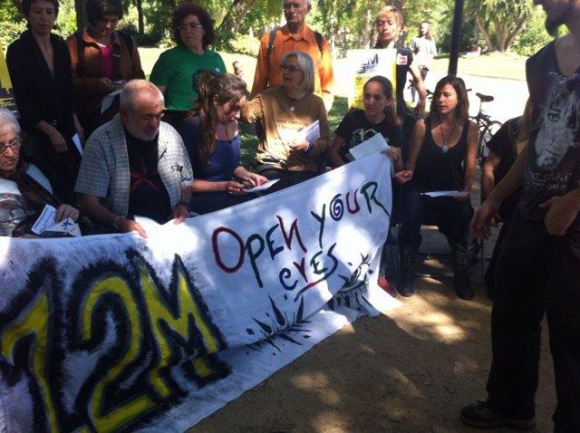 Indignados Anuncian Que Vuelven A Plaza Catalunya