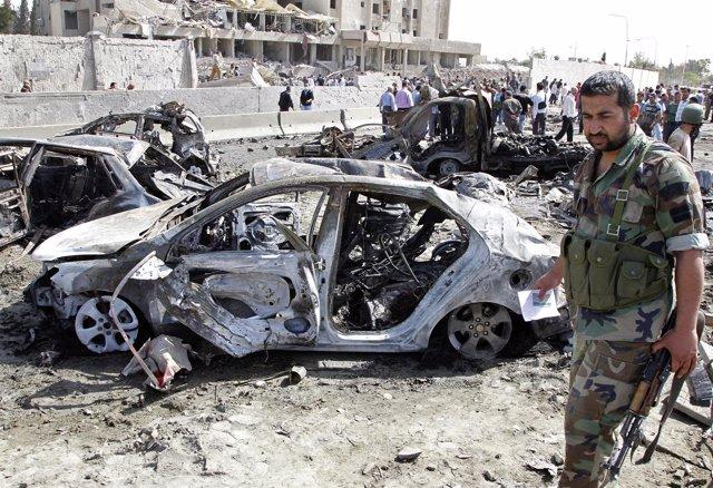 Atentado Terrorista En Siria, Damasco