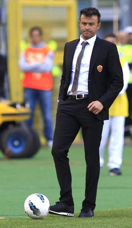 Luis Enrique, Entrenador Del AS Roma