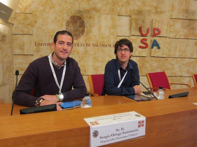 Los Organizadores Sergio Ortega Y Sergi Sánchez En La Presentación Del Encuentro