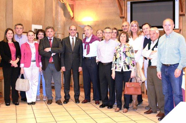 Alberto Catalán, Con Presidentes De Los Consejos Escolares Autonómicos.