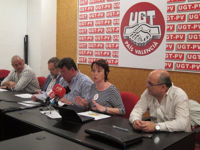 Representantes Sindicales Informan Del Resultado Del Referéndum.