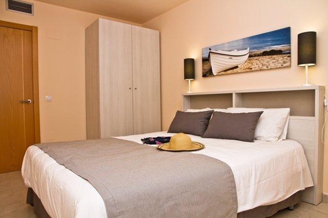 Habitación del complejo vacacional apartamentos Pierre & Vacances Mojácar playa