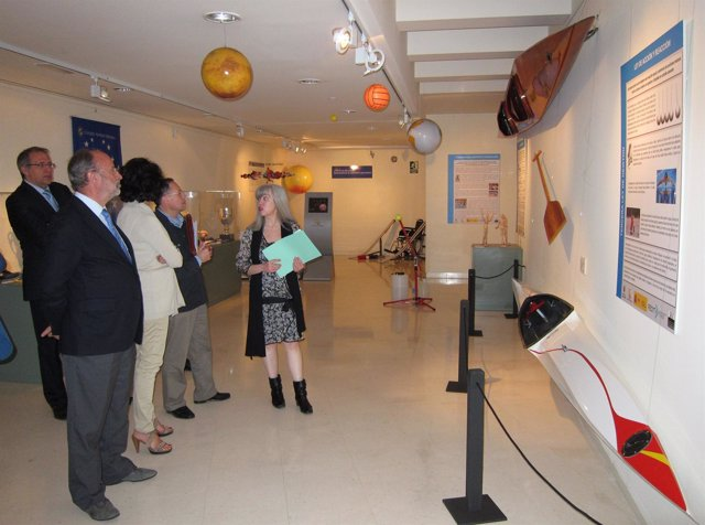Inauguración De La Exposición 'Deporte Por Dentro' En El Museo De La Ciencia