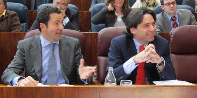 Pablo Cavero Y Percival Manglano