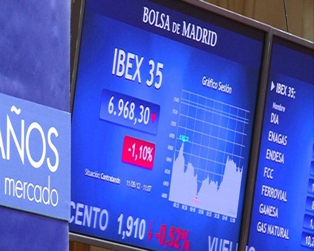 El Ibex cae un 1,34% en la apertura