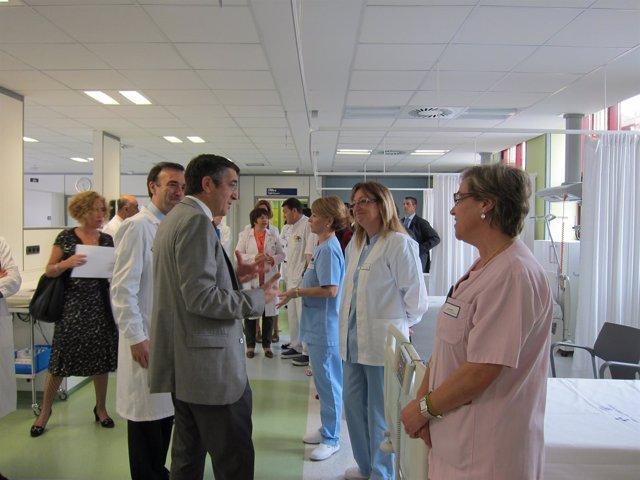 El Lehendakari En El Hospital De Basurto
