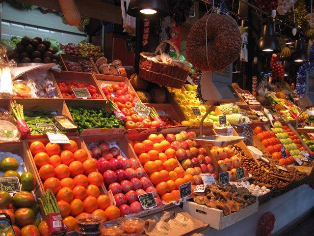 Fruta en Un Mercado
