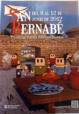 Cartel De Las Fiestas De San Bernabé 2012