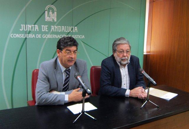Diego Valderas Y Francisco Toscano, Hoy Ante Los Medios
