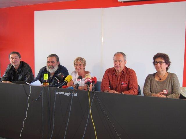 Los Sindicatos Catalanes, En Huelga Contra Los Recortes