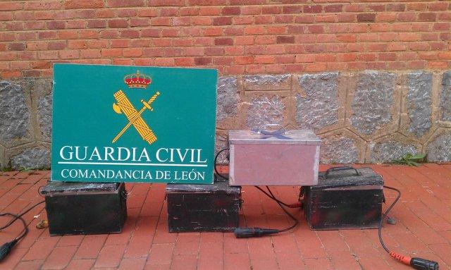 Objetos Robados En Sahagún (León)