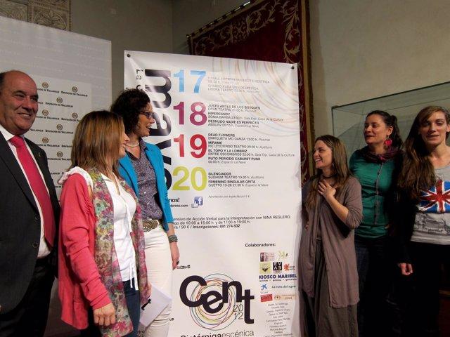 Presentación Del I Festival Cistérniga Escénica De Nuevas Tendencias