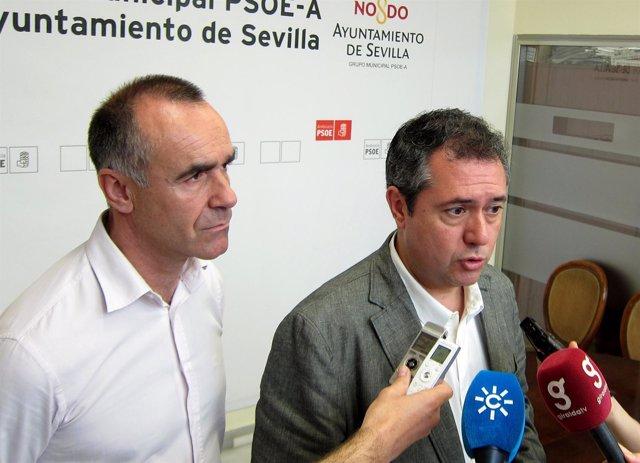 Juan Espadas Y Antonio Muñoz