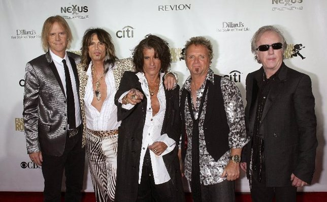El grupo Aerosmith