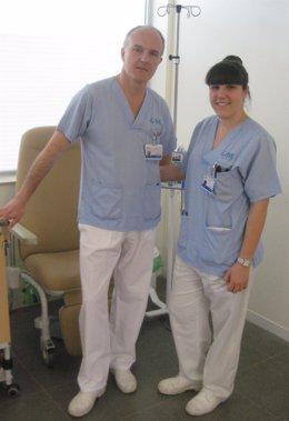 Víctor Díez Y Beatriz Díez, Enfermeros HUIL Premiados