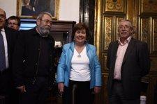 Tóxo Y Méndez Se Reúnen Con Luisa Cava De Llano