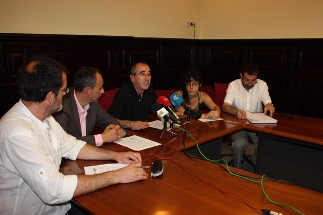 Integrantes De La Plataforma Andaluza Por La Universidad Pública