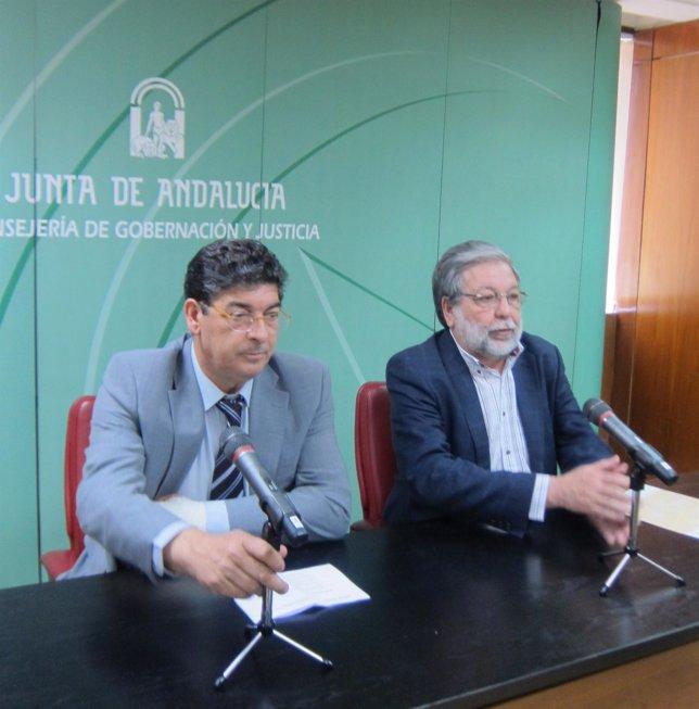 Diego Valderas Y Francisco Toscano, Hoy En Rueda De Prensa