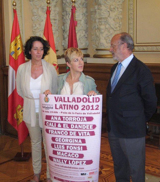 Presentación Del Valladolid Latino 2012