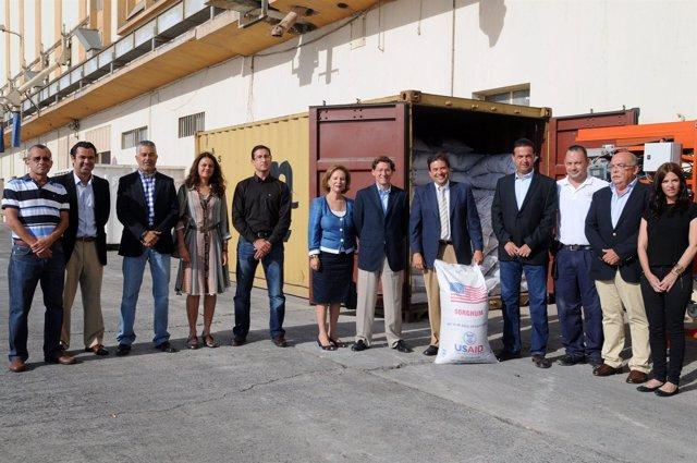 Culmina El Primer Embarque En Contenedor De Ayuda Humanitaria