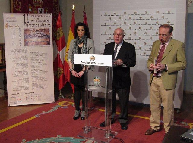 Presentación Del Ciclo De Conciertos De Órgano Tierras De Medina (Valladolid)