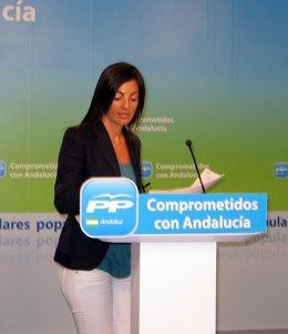 La Portavoz Del PP Andaluz, Rosario Soto
