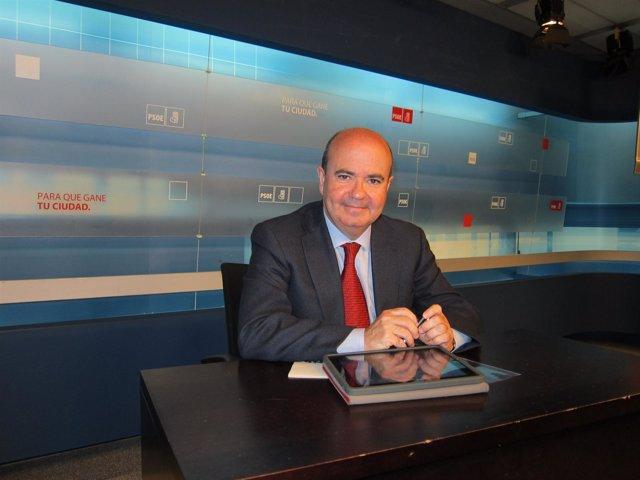 El Responsable De Política Autonómica Del PSOE, Gaspar Zarrías