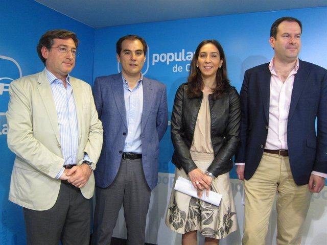 Rafael Carmona, José Antonio Nieto, Rafi Obrero Y Adolfo Molina