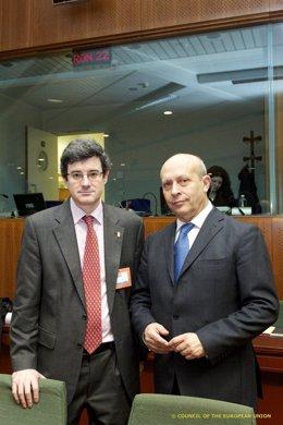 José Iribas Y José Ignacio Wert.