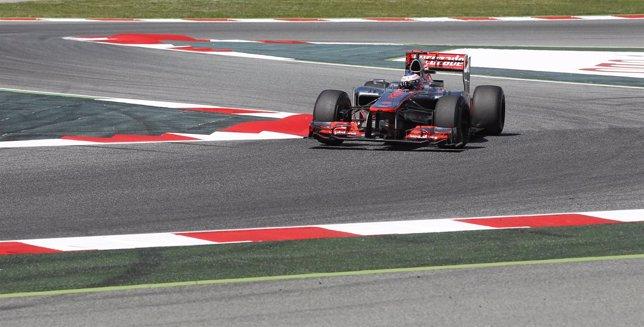 Jenson Button GP España 2012