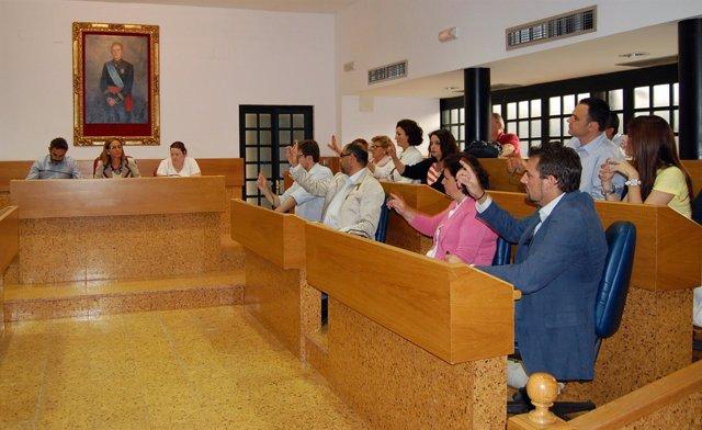 Pleno Del Ayuntamiento De Lebrija.