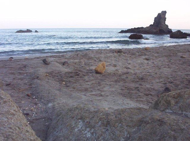 Costa del Parque Natural del Cabo de Gata (Almería)