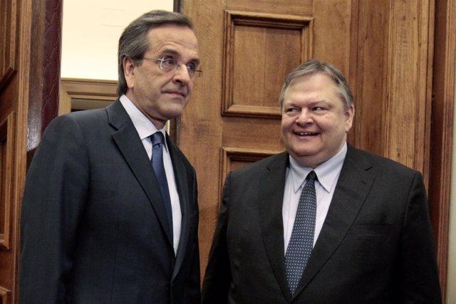 Samaras Y Venizelos