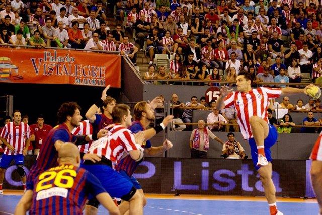 Balonmano Atletico De Madrid Contra Barcelona