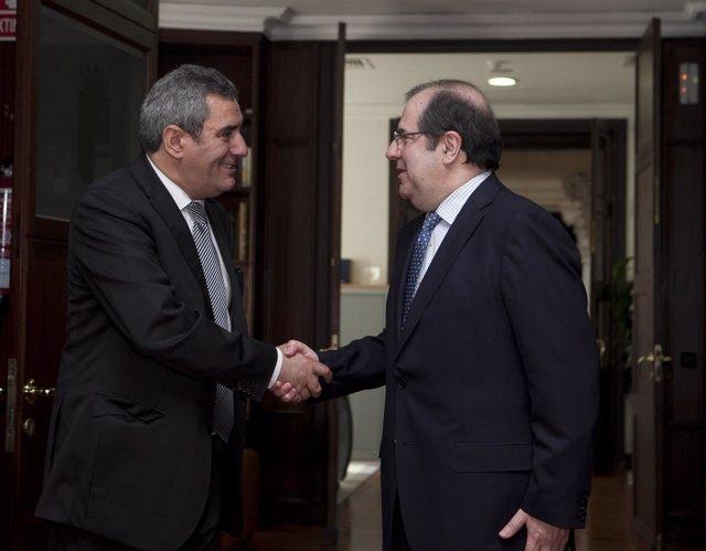 Reunión Juan Vicente Herrera Y Julio Villarrubia