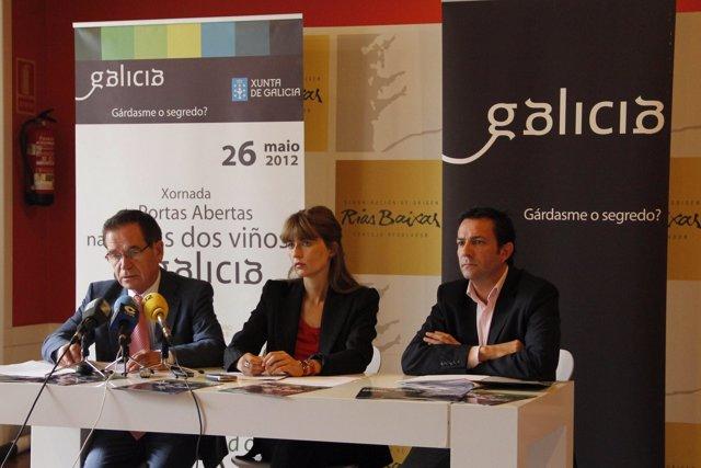 Carmen Pardo Y Ramón Meiriño En El Pazo De Mugartegui
