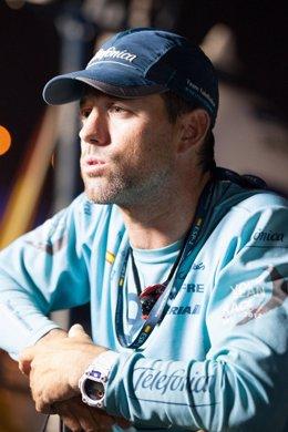 Iker Martinez Team Telefonica Volvo Ocean Race