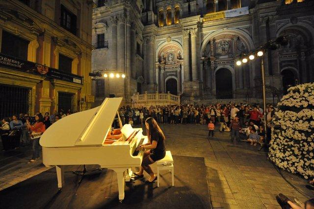 Actividad De La Noche En Blanco 2011 De Málaga