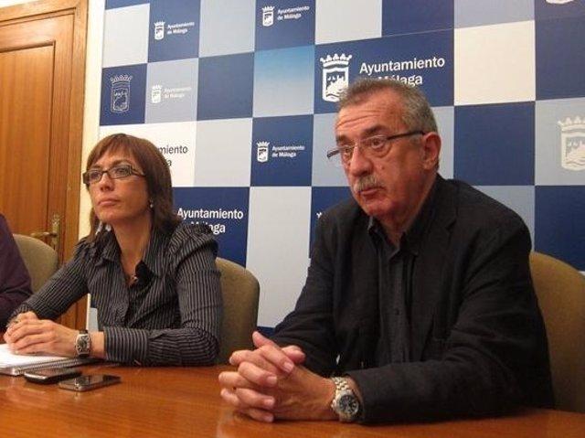 María Gámez y Hernández Pezzi PSOE ayuntamiento málaga